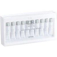 オッペン化粧品 OPPEN DR メディアッククリスタル ホワイトニングクレイマスク 6g×10本