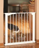 "Command Pet Pressure Gate, 29.5""H/29""-32""W, White - 1"