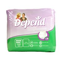 Depend Women'S Incontinence Pants Small/Medium - Super 18