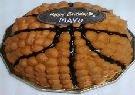 モンドール 立体バスケットボールケーキ