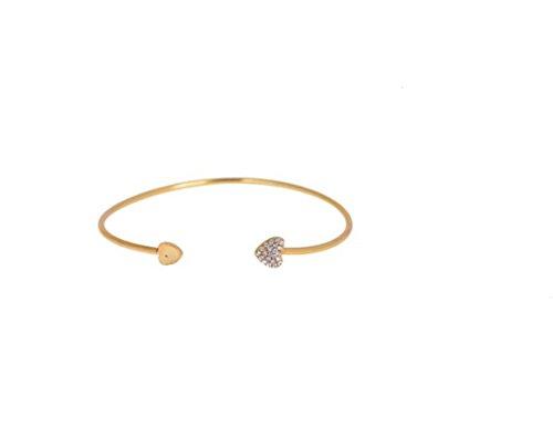 or-elegant-bracelet-bracelet-avec-strass-or-coeur-conclusion-coeur-dans-coeurs-3d-avec-pierre-chen-l