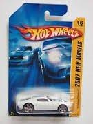 Mattel Hot Wheels 2007 New Models 1:64 Scale White 1970 Pontiac Firebird Die Cast Car #016