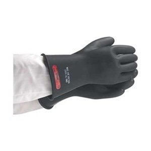 Electrical Gloves, Size 9.5, Black, Pair
