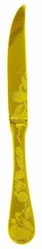Mepra Venere Ice Oro Fruit Knife, Gold Matt, Set Of 12