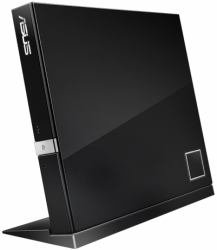 ASUS SBW-06D2X-U/BLK/G/AS - SBW-06D2X-U/BLK/G/AS, External Slim Blu-Ray Writer, 6x BD-R (SL+DL), 2xBD-RE
