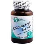 World Organic - Chlorophyll Caps 60 Mg. - 100 Capsules