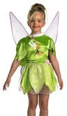 Peter Pan - Tinkerbell Leaf Capelette Child Accessory - 1