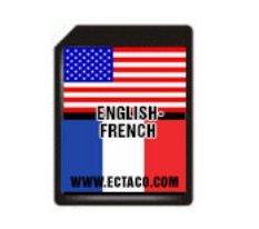 Ectaco 500SD EF SD Card English-French EFa500T