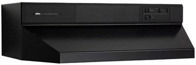 "Broan 894223 42"" Black Under Cabinet Hood 460/440 Cfm Range Hood"