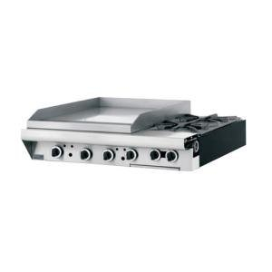 "Liquid Propane Garland M48-23T Master Series 2 Burner Modular Top 34"" Gas Range With 23"" Griddle - T"