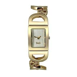 DOLCE & GABBANA GOLD TONE BRACELET LADIES WATCH  - DW0495