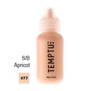 Temptu Pro S/B Airbrush Makeup 1 Ounce Bottle Of Apricot Color (#077)