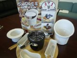 SMORES MAKER - Indoor/Outdoor 3-in-1 Dessert Station (S'mores, Fondue, Ice Cream)