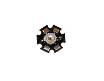 1W 940Nm 1.5-1.7V 450Ma Led Ir Emitter (Black)
