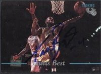 Travis Best Indiana Pacers 1995 Classic Autographed Hand Signed Trading Card - Rookie... by Hall+of+Fame+Memorabilia