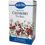 Organic Cranberry Tea Alvita Tea 24 Bag