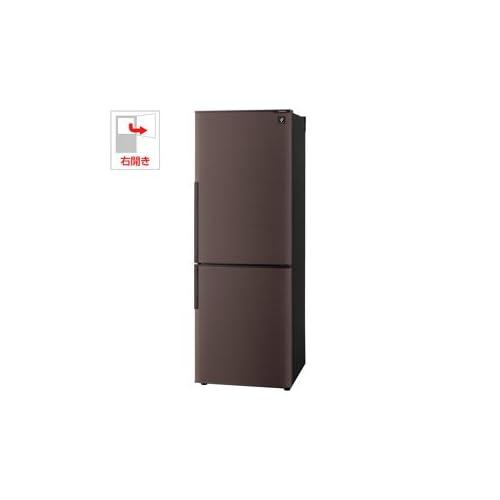 シャープ 270L 2ドア冷蔵庫(ブラウン系)SHARP プラズマクラスター冷蔵庫 SJ-PD27Y-T
