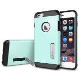 iPhone 6 Plus ケース, Spigen® [エアクッションテクノロジー] タフ・アーマー Apple iPhone (5.5) アイフォン 6 プラス カバー (国内正規品) (ミント SGP11055)