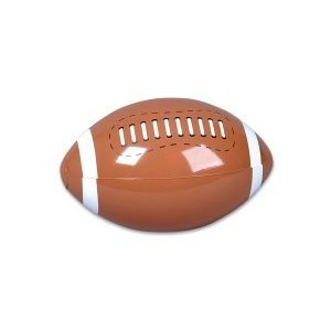 INFLATABLE FOOTBALLS 1DZ~ Beachball Inflates ~ 16 Inches ~Birthday Favor Toy Pool Party Beach outdoor Water Sports Play Gift