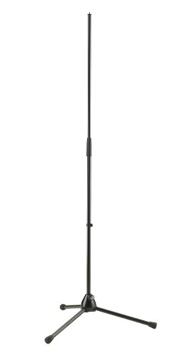 K&M 201A/2 Adjustable Heavy Duty Tripod Microphone Stand