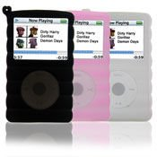 Elekratek Ipod Classic 160GB Pack of 3 Silicone Covers Black Pink and White [ 3COVER_ICLAS160 ]