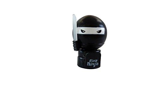 Jokari Fizz Ninja Pump and Pour Soda Saver For 2-Liter Bottles, 1-Pack