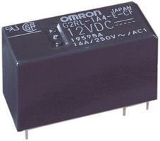 Omron Electronic Components G2Rl-1-E Dc12 Power Relay, Spdt, 12Vdc, 16A, Pc Board