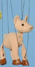 "16"" Pig Marionette (Small)"