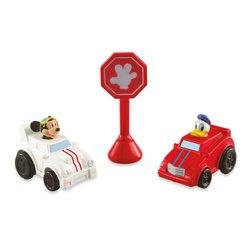 Mickey Motors Raceway Vehicles - Mickey  DonaldB001D3D2M6
