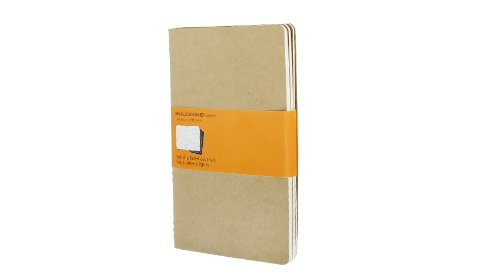 Moleskine Ruled Cahier Journal Kraft Large: set 