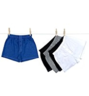 5 Pack Pure Cotton Classic Boxers