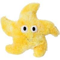 Great China CoSea Creatures Yellow Starfish Dog Chew Toy