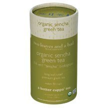 Two Leaves And A Bud Organic Sencha Green Tea, 3.5 Ounce -- 6 Per Case.