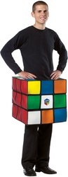 Wmu - Men's Costume: Rubik's Cube- Large/XL