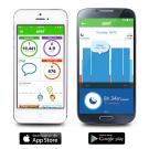 Striiv Activity Tracker app for iPhone and Android smart phones
