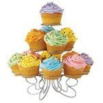 CostMad Wire Metal Round 3 Tier 13 Cups Cupcakes Display Holder Cakes Stand Tree for Wedding Birthday Party