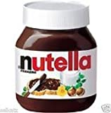 Large Ferrero Nutella Chocolate Hazelnut Spread 26.5 Oz Huge Jar Skim Milk Cocoa From Thailand.