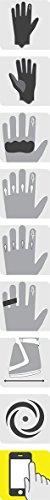 Alpinestars Celer Leather Gloves Black/White/Red Md 3567014-123-M