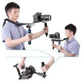 Neewer® Aluminium Alloy Foldable DSLR Rig Movie Kit Film Making System Shoulder Mount Support Rig Stabilizer for Canon Nikon Sony Fujifilm Olympus Digital SLR Cameras and Camcorders