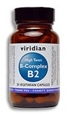 HIGH TWO® Vitamin B2 with B-Complex: 90 Veg Caps