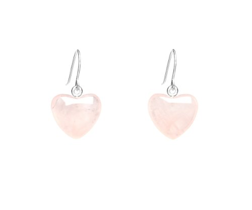 Lola Rose 'Daniella' Rose Quartz Earrings