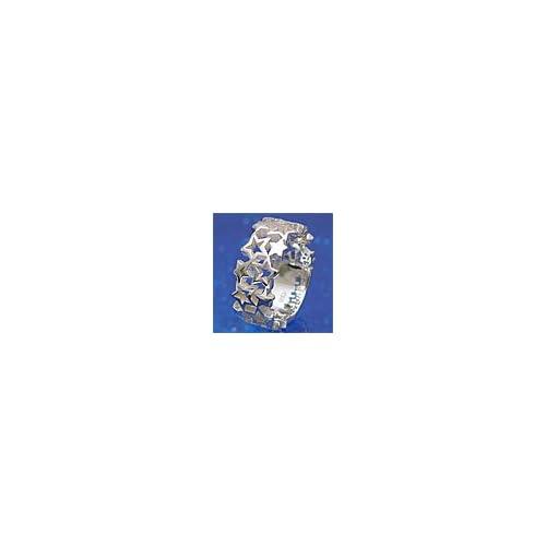シルバーアクセサリー シルバーリング 指輪 メンズ リング 星・スター r0337 【13号】