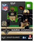 Minifigure, Nfl Football New Orleans Saints: Mark Ingram, #22 Mark Ingram Running Back Generation One Limited Edition Oyo Minifigure. Part Of The First Football Oyos Released! Figure Comes With A Football, Team Helmet, Removable Face Mask, Water Bottle An