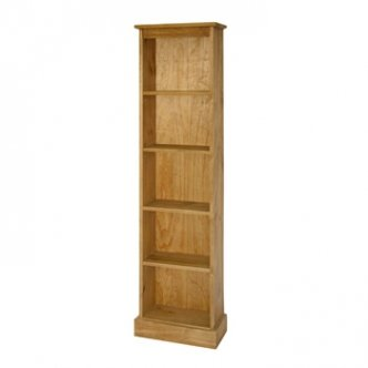 Tall Narrow Bookcase / Display Case - Santa Fe Mission Range