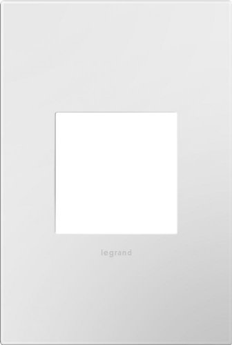 Legrand adorne AWP1G2WH10 1 Gang Wall Plate - White