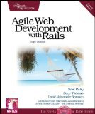 img - for Agile Web Development with Rails, Third Edition 3rd Edition by Ruby, Sam, Thomas, Dave, Hansson, David Heinemeier [Paperback] book / textbook / text book