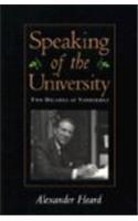 Speaking of the University: Two Decades at Vanderbilt