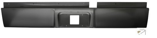 IPCW CWRS-02DG Dodge Pickup/RAM Steel Roll Pan with License Plate Hole and Light (Dodge Roll Pan compare prices)