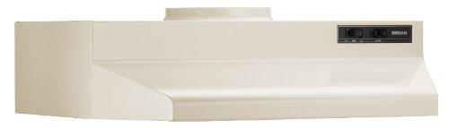 Broan 423008 Under Cabinet Hood, 190 Cfm, 30-Inch, Almond front-603520