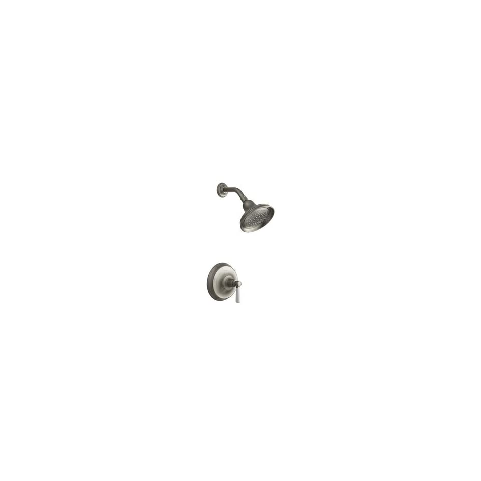 Single Handle Shower Faucet   Brushed Nickel